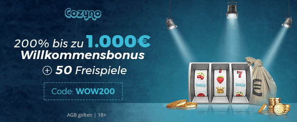 Cozyno Casino Bonus 1