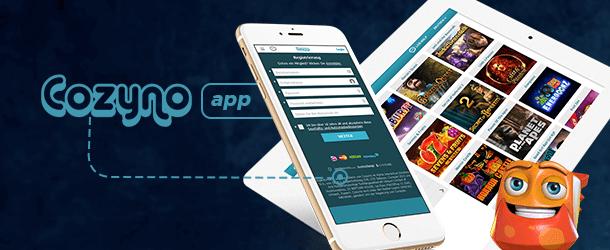 Cozyno Casino Mobile Casino App