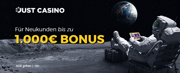 Justcasino Bonus