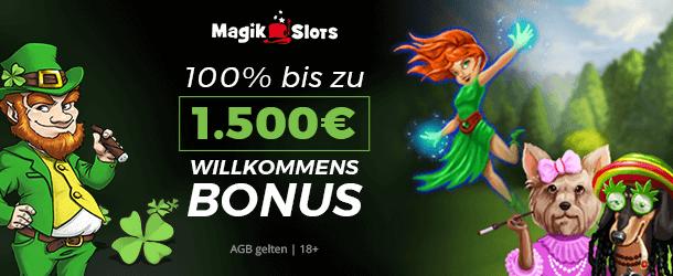 Magik Slots Casino Bonus