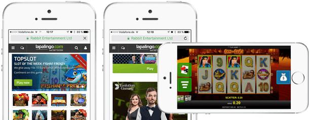 Lapalingo Mobile App