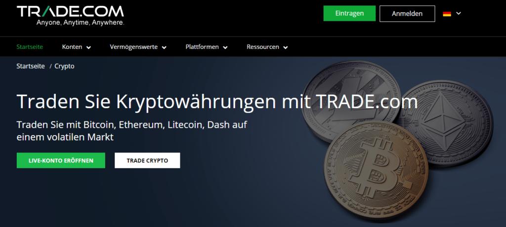 Trade.com Kryptowährung