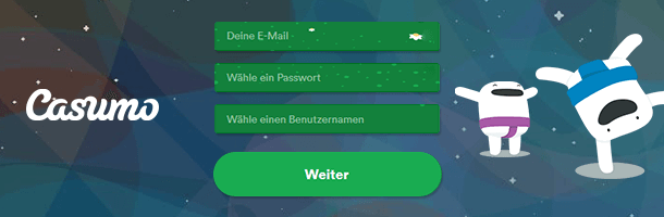 Casumo Mobile Casino Registrierung & Support