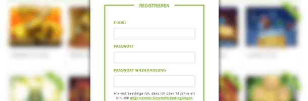 Lapalingo Mobile Casino Registrierung