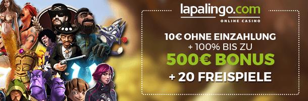Lapalingo Mobile Casino Bonus