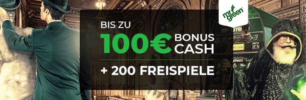 Mr Green Mobile Casino Bonus