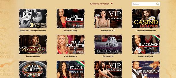 Orientxpress Live Casino