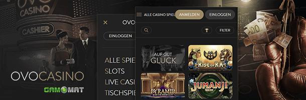 Ovo Mobile Casino Spiele