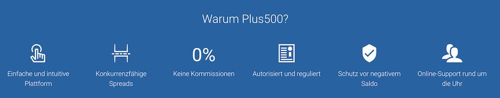 Plus500 Vorteile