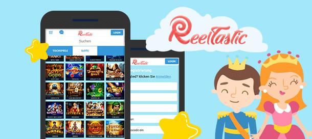 Reeltastic Mobile Casino