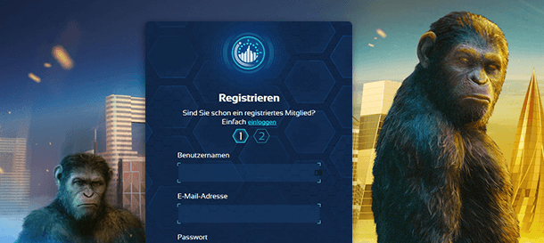 Spintropolis Registrierung
