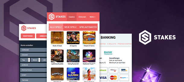 Stakes Mobile Casino