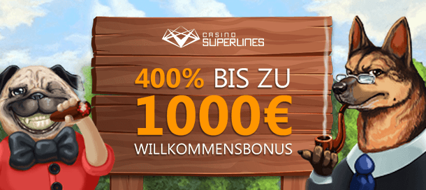 Superlines casino Bonus 1
