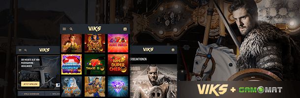 Viks.com Mobile Casino Spielehersteller