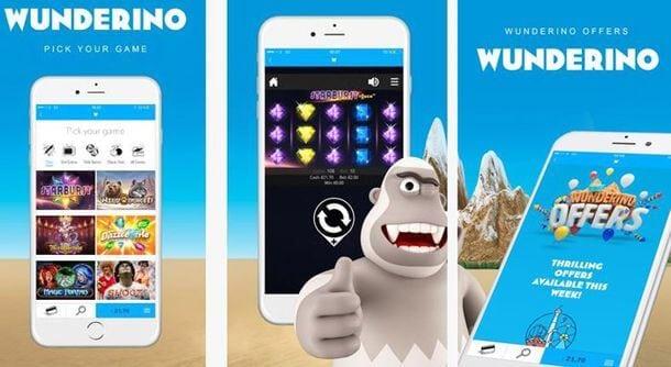 Wunderino Mobile App
