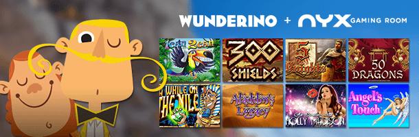 Wunderino Mobile Casino Spielehersteller
