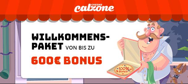 Casino Calzone Bonus für Neukunden 2