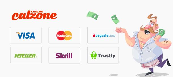 Casino Calzone Zahlungsmöglichkeiten