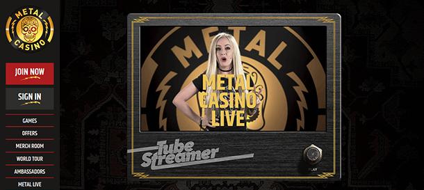 Metalcasino Live Casino