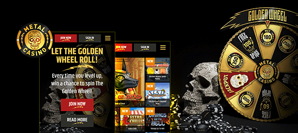 Metalcasino Mobile App