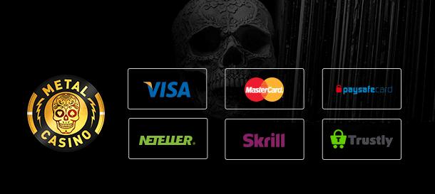 Metalcasino Zahlungen
