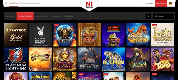 N1Casino Spiele