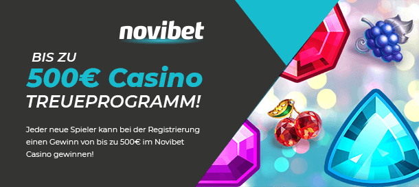 Novibet Casino Bonus Treueprogramm