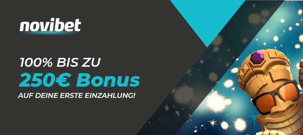 Novibet Casino Bonus