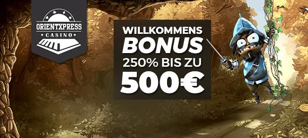 Orientxpress Casino Bonus 2