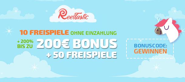 Reeltastic Casino Neukundenbonus 2