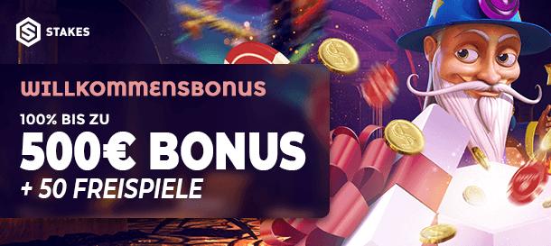 Stakes Casino Bonus 2