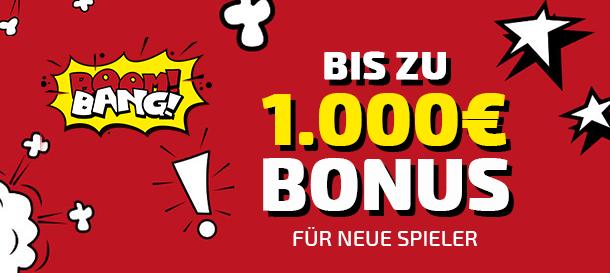 Boom Bang Casino Bonus 1