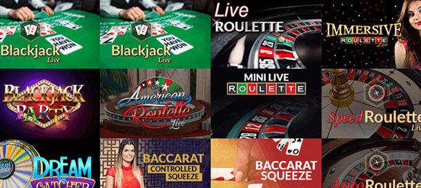 Boom Bang Casino Live Casino