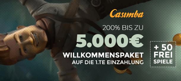 Casimba Casino Bonus 1