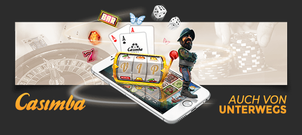 Casimba Casino Mobile App