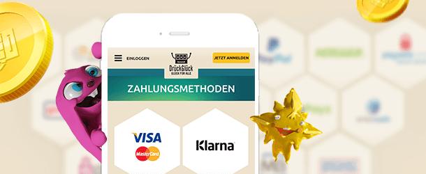 DrueckGlueck App Zahlungen