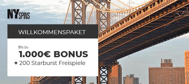 NYspins Bonusangebot 2