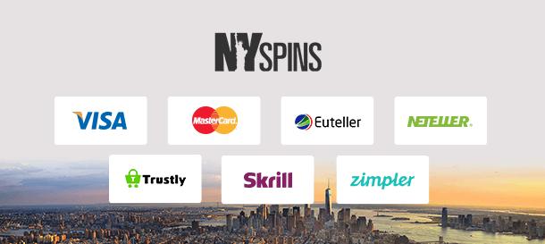 NYspins Zahlungen
