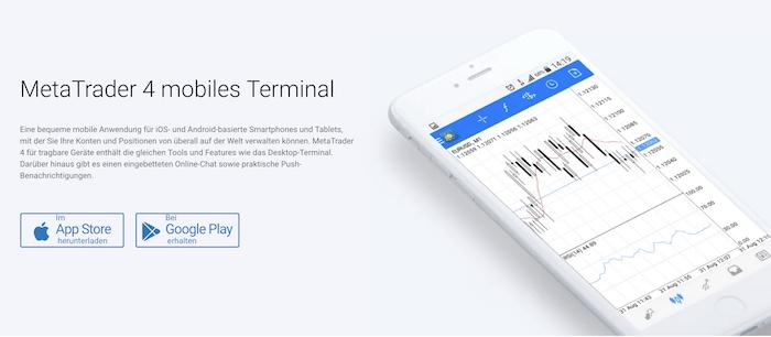RoboForex MT4 App