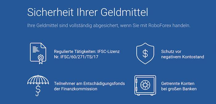 RoboForex Regulierung