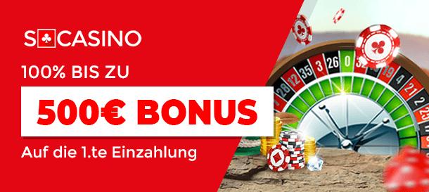 Scasino Bonus