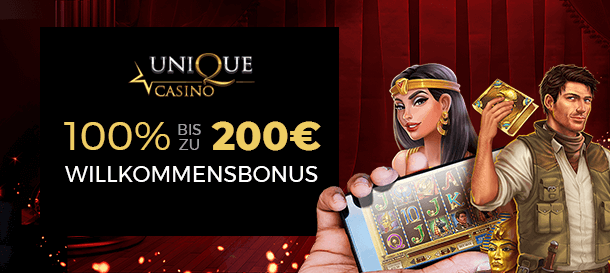 Unique Casino Bonus 2
