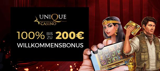 Unique Casino Bonus 2