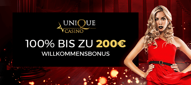 Unique Casino Bonus 1