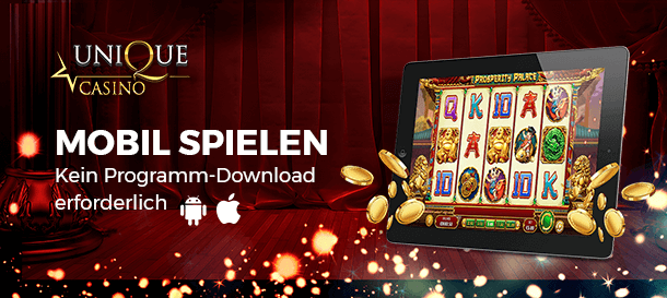Unique Casino Mobile Casino App