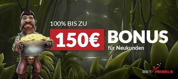BetRebels Casino Bonus 1