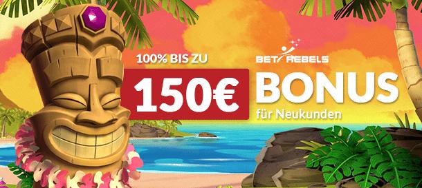 BetRebels Casino Bonus 2