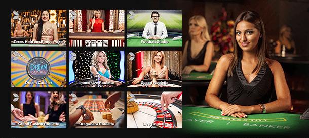 BetRebels Casino Live Casino