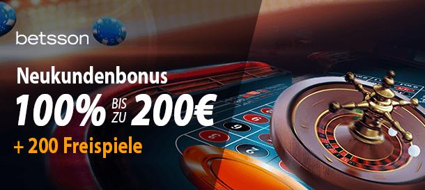 Betsson Casino Bonus 3