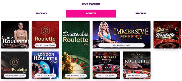 Frank und Fred Casino Live Casino